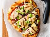 Chicken Supreme Flatbread Pizza